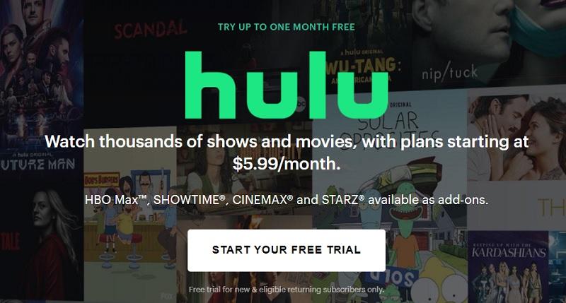 watch Hulu In South Africa