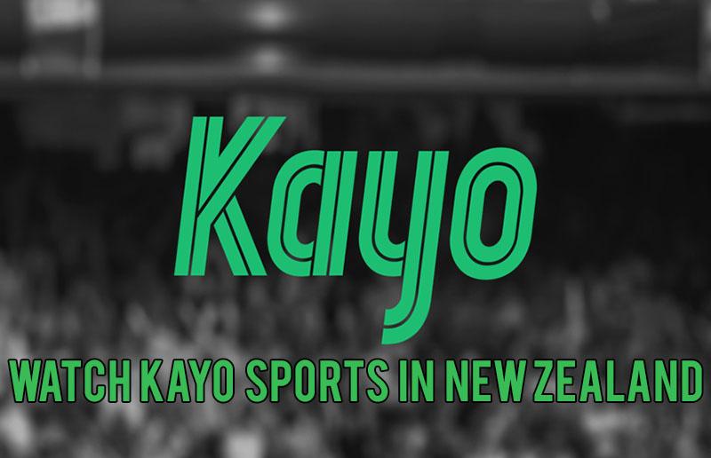 Kayo Sports in New Zealand