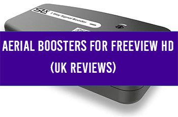 aerial boosters for freeview