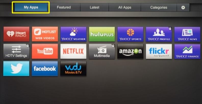 Update Apps on Vizio Smart TV