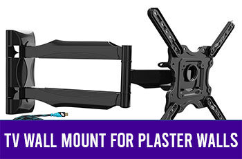 tv wall mount for plaster walls