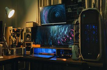 horizontal PC cases